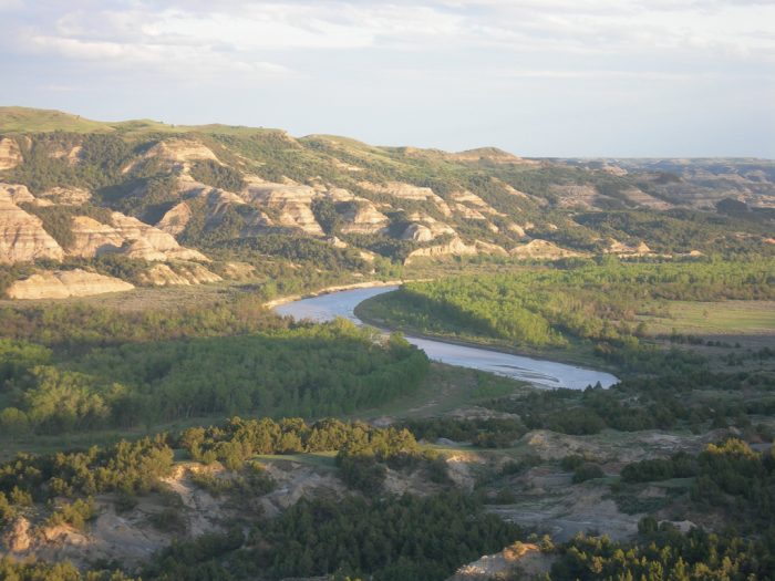 5. Gorgeous Painted Canyons of the Theodore Roosevelt National Park