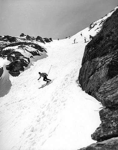 12. Skiing down Tuckerman's Ravine was just as scary in 1962 as it is now!