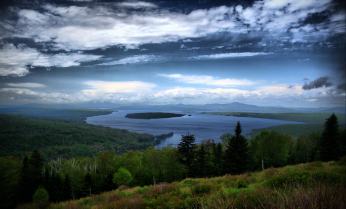 7. You'll only find the Height of Land near Rangeley, one of inland's loveliest areas.