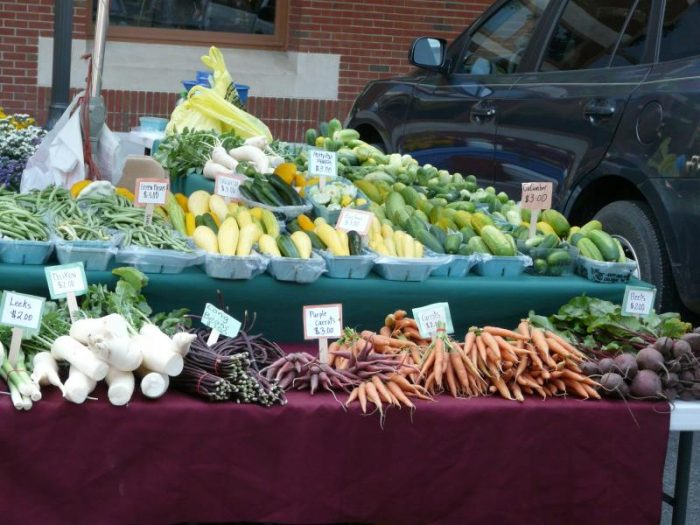 14. That farmers markets are better than supermarkets