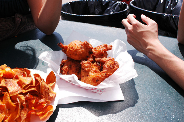 9. The clam cake was first served in the state, and Rhode Islanders are still obsessed with this tasty food.