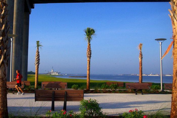 5. Memorial Waterfront Park - Mount Pleasant, SC