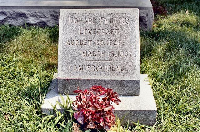 11. H.P. Lovecraft's Grave, Providence