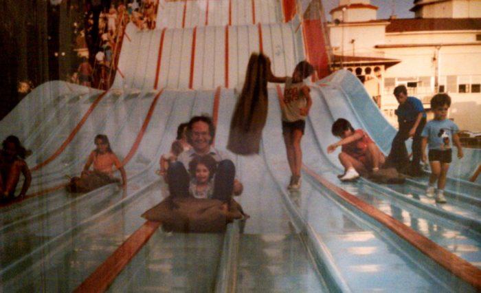 12. Cedar Point slide: circa mid-1980s