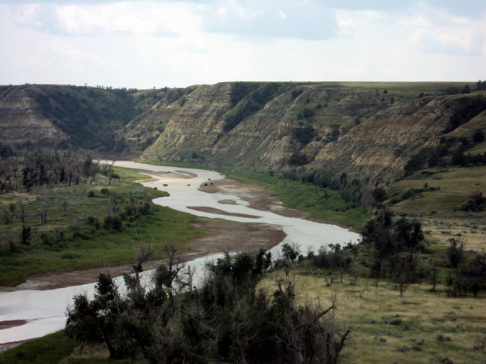 Formed over thousands of years by the flowing Little Missouri River