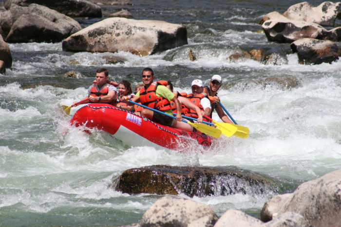 11.  Raft the Middle Fork  of the Salmon River – also known as the River of No Return.