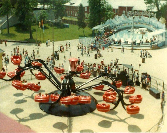 11. Monster ride at Cedar Point Amusement Park: circa 1983