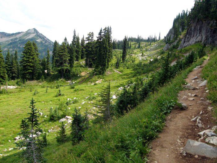 6. Naches Peak Loop, in Mount Rainier National Park