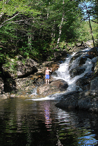 4. Find your favorite secret swimming hole and visit it frequently.