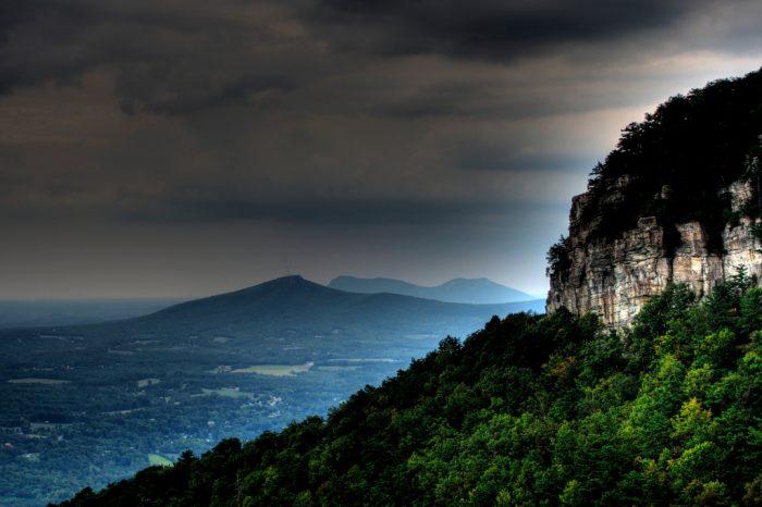 3. Pilot Mountain