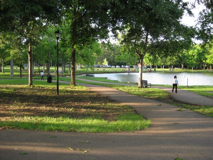 Strawberry Patch Park is one of two gorgeous parks.