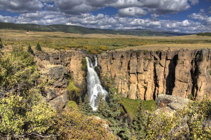 6. North Clear Creek Falls (Creede)
