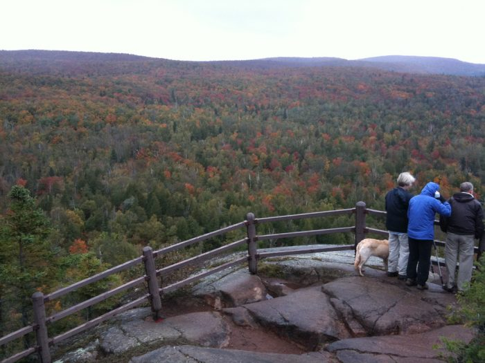 It's especially gorgeous in the fall, when the surrounding forest is all shades of gold, orange and red.