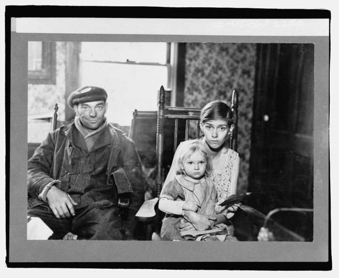 11. Suffering from tuberculosis, here you can see a family pictured in Albany County.