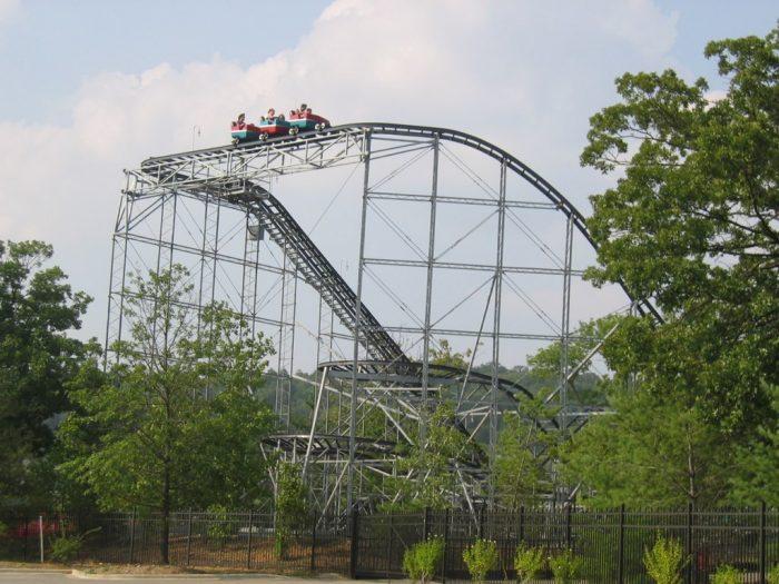 Celebration City roller coaster