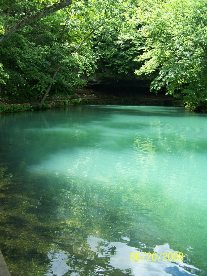 This is no doubt due to the land's karst topography, which is characterized by abundant springs and caves.
