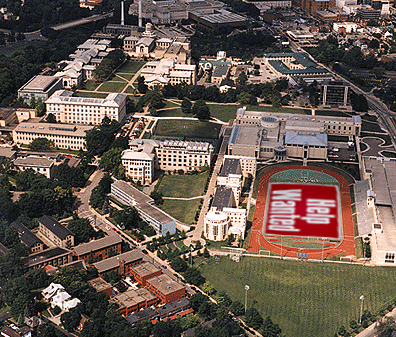 6. Pittsburgh hosted the G20 Summit in Pittsburgh in 2010. Here's an aerial view of Carnegie Mellon University from that time.