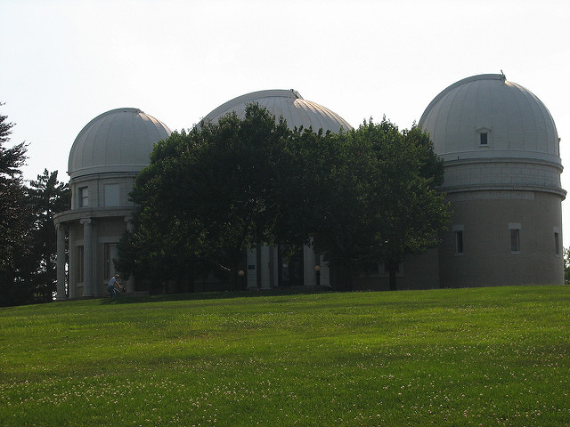 Star gaze at the Allegheny Observatory.