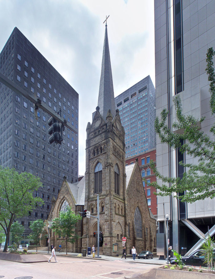 4. First Lutheran Church Pittsburgh - 615 Grant Street