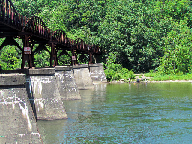 4. Walk or ride the Great Allegheny Passage from Pittsburgh to Cumberland, MD.