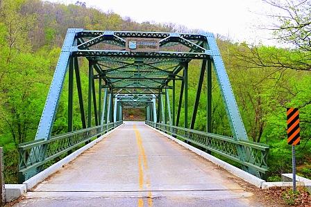 4. Beautifully framed bridges