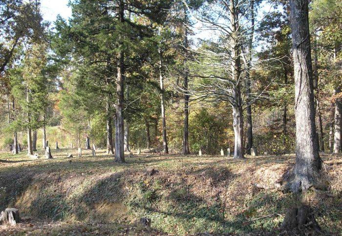4. Lick Creek Cemetery, Dawson Springs.