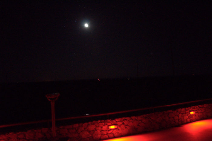 ...and definitely head out after dark to catch a glimpse of the mysterious Marfa Lights.