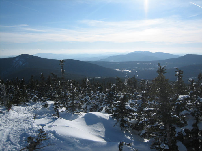 2. The beautiful Carrabassett Valley is here.