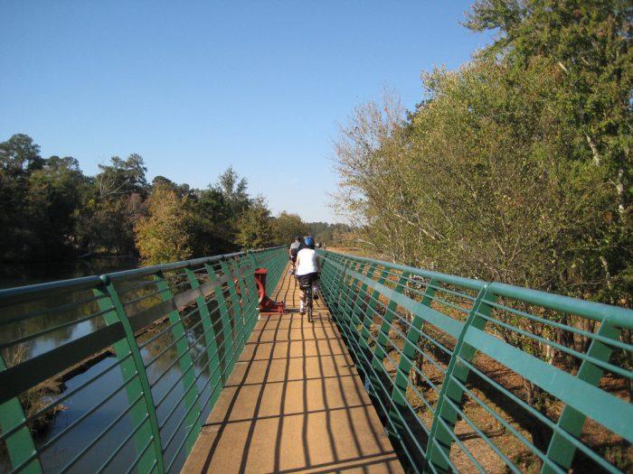 9. Augusta Canal Trail—1450 Greene Street, Augusta, Georgia 30901