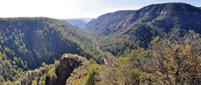 Oak Creek Vista is one of many overlooks that shows off the area's beauty.