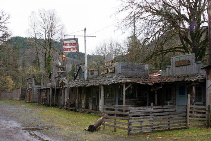 6. Short Bridge Ghost Town, Highway 20