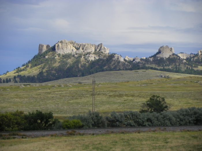 4. The bluffs, buttes, and rock formations of western Nebraska
