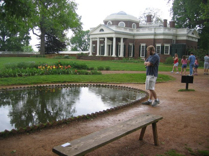 15. A tourist will visit one of Virginia's many historic sites and could potentially be learning this information for the very first time.