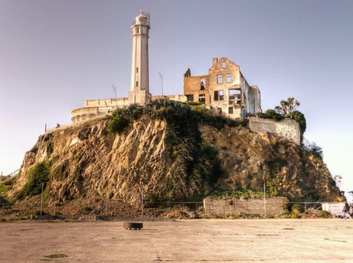 5. California: Alcatraz Federal Penitentiary, San Francisco