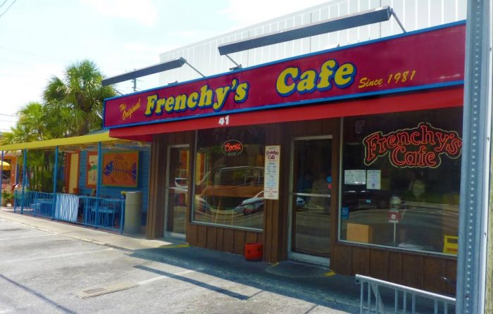 5. Frency's Cafe, Clearwater