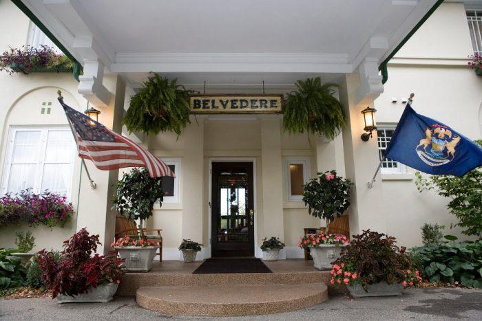 7. The Belvedere Inn & Restaurant (Saugatuck)