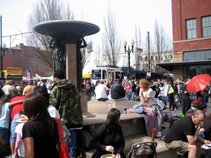 1. Portland Saturday Market