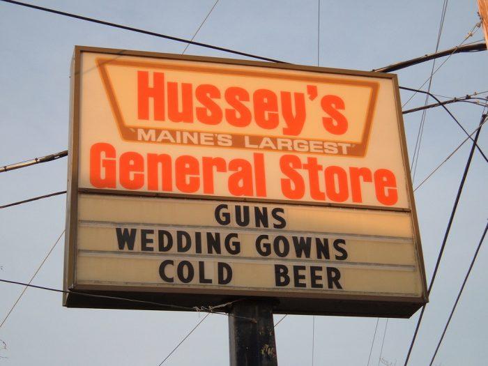 1. Hussey's General Store, WIndsor