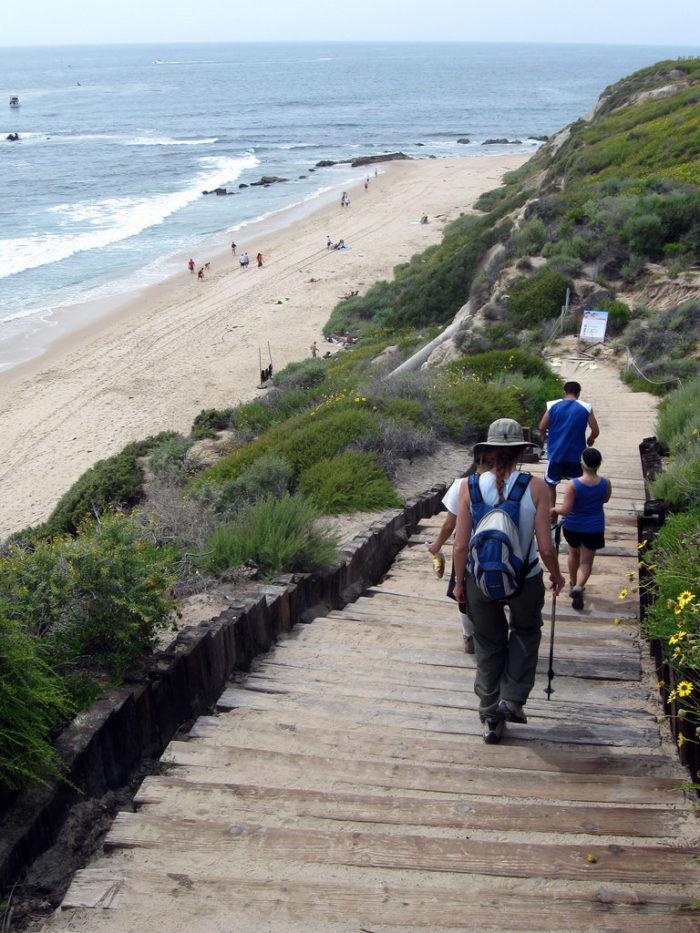 4. Crystal Cove Beach