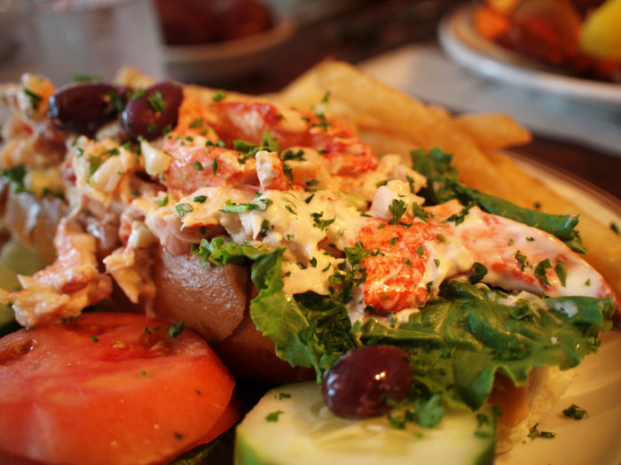 Or the lobster roll.