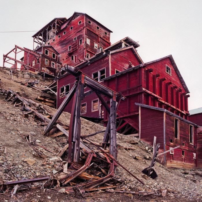 Alaska: Kennecott Copper Mining Camp, Valdez-Cordova