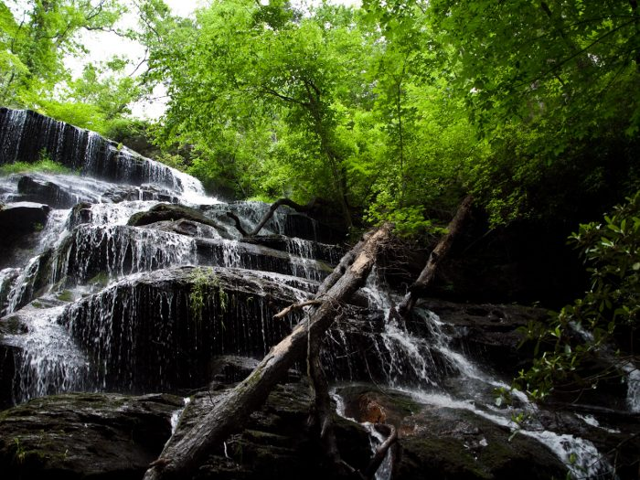 5. Waterfalls in Oconee County
