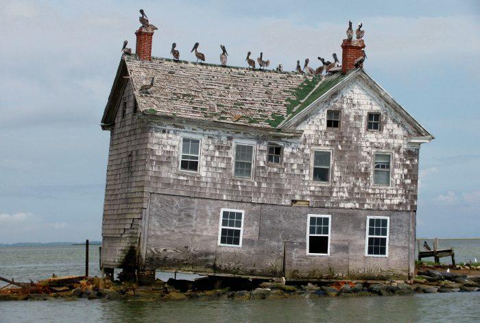 6. Maryland: Holland Island