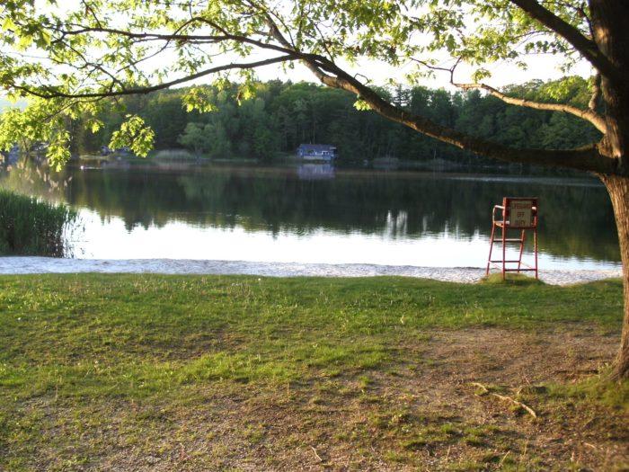 10. Historic Valley Campground, Windsor Lake, North Adams