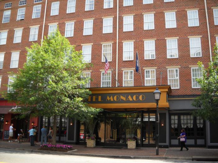4. Hotel Monaco (Alexandria, Virginia)