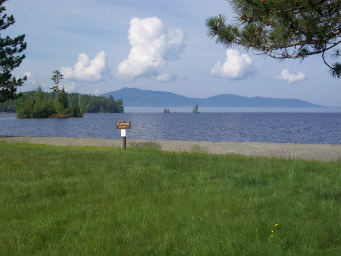 7. Lily Bay State Park Beach / Dunn Point, Piscataquis County