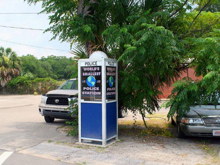7. World's Smallest Police Station, Carrabelle