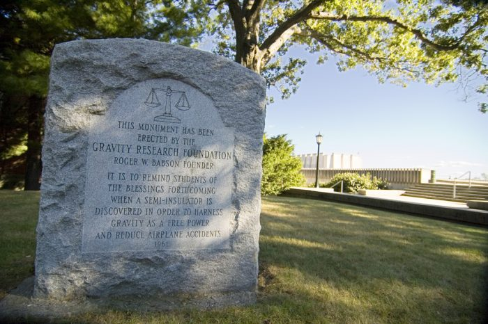 14. Gravity Research Foundation Monument—Atlanta, Georgia