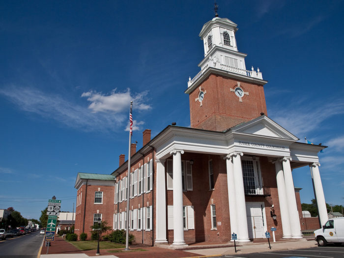 Sussex County Courthouse - Georgetown, Delaware, USA