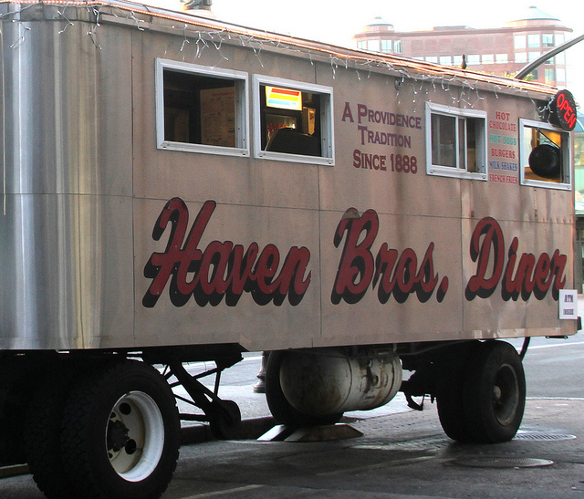 1. Rhode Island invented the diner, forever ensuring access to comfort food across the nation.